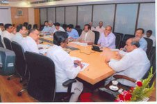 YS meeting with senior officials