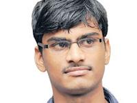 Sai Ram gets admission in Osmania medical college