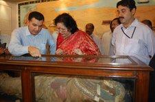 Egyptian mummy in Hyderabad and Inspection