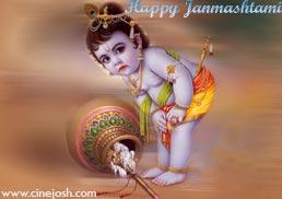 Cinejosh Wishes a very happy Janmashtami