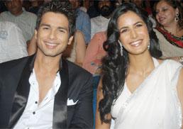 Katrina and Shahid Received Rajiv Gandhi Awards