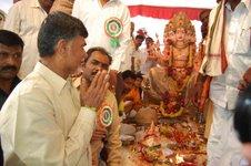 Babu at Sri Vishwakarma Yagana Mahaotsavam