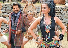 Costumes galore for Rajini and Aishwarya