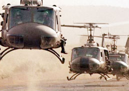 Choppers pressed into service to rescue marooned victims