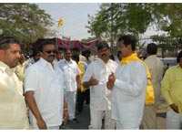 TDP office  buzzing  with   activity
