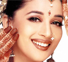 Young Hero for a date with Madhuri Dixit.