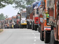 Lorry owners up in arms against VAT hike