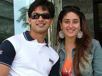 Kareena and Shahid break the ice