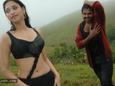 Second Simran hot beauties in wet sari!