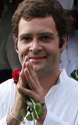 Young Rahul gives up business for politics