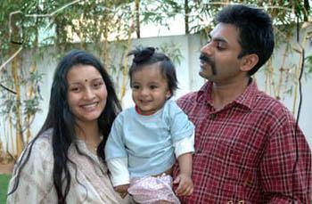 Pawan Kalyan and Renu blessed with daughter.