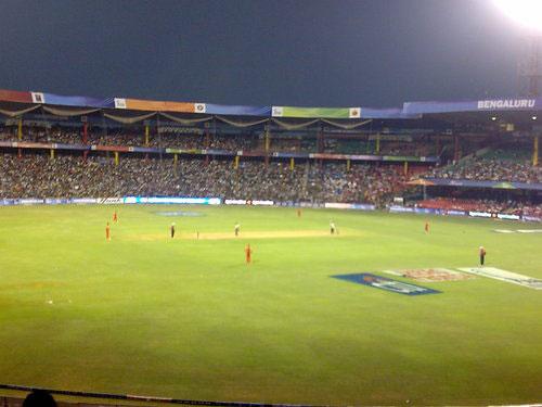 Serial Blasts @ Chinnaswamy Stadium, Bengaluru.