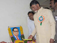 Naidu for national project status for Polavaram