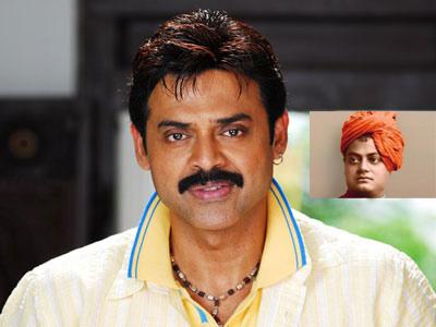 Venky becomes Vivekananda for?