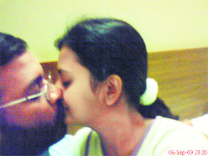 Director caught in 'Lip Kiss' scandal with Hot Heroine
