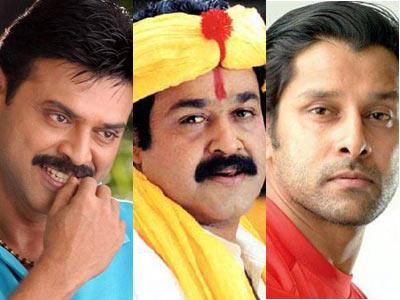 Venky, Vikram, Mohan Lal together for Multi Starrer!