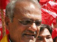 CPI leader Narayana hurt