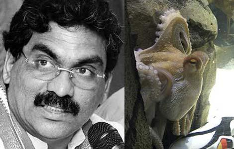 Lagadapati is the 'Octopus Paul' of India