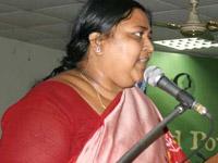 MLAs from Prakasham meet in Panabaka Lakshmi's  house