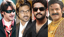 SIXTEEN directors for only FOUR heroes!!!