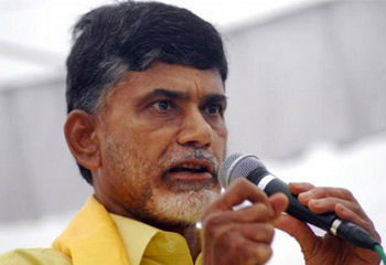 Naidu 'Odarpu Yatra' for YSR Faction Victims
