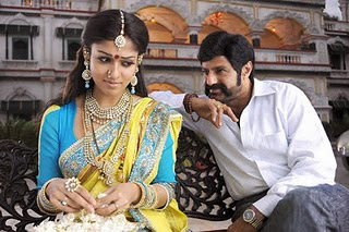 Balayya helping Nayan repeat Anjali Devi