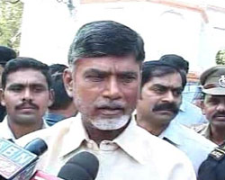 Babu launches indefinite fast, party leaders follow