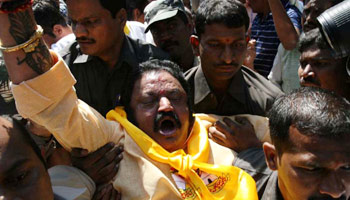 Police thwart TDP, Left rally, leaders term action 'undemocratic'