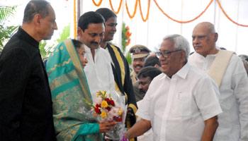 President's weeklong visit begins, accorded warm welcome