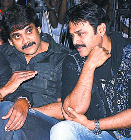 Venky following the Nag's footsteps