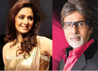 Sridevi to act with Big B