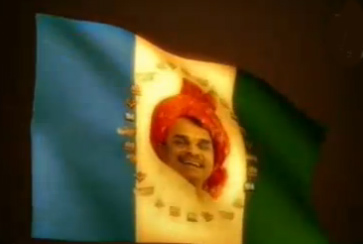 YSR Congress Party's Flag photo