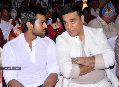 Ram Charan big fan of Kamal Hassan