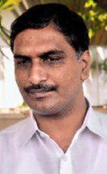 Harish Rao hulchul @ Andhra Bhavan