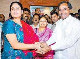 KCR & Vijayashanti ready to die