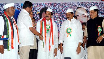 PRP merger formalises as 16 MLAs join Congress