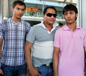 Azharuddin's son critical in road accident
