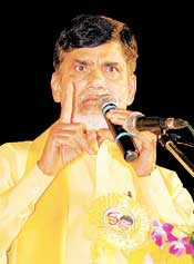 Nearly 17,000 farm suicides in Cong rule, alleges Naidu