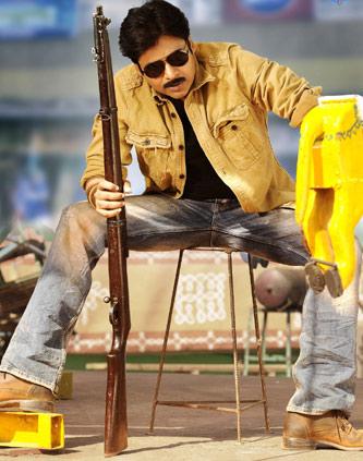 Pawan injured @ 'Gabbar Singh'
