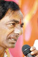 KCR slams Congress for MPs suspension