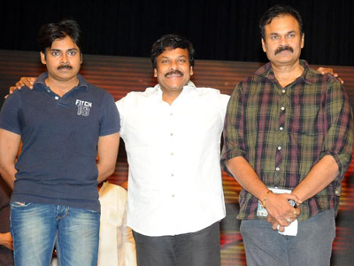Mega Brothers to Grace 'Naayak' Audio!