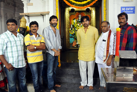 Pawan-Trivikram Movie Launched