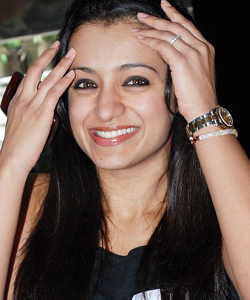 Finally, Trisha Trying Action on Screen