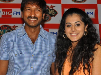 Channel's 'Sahasam' on Gopichand's Movie!