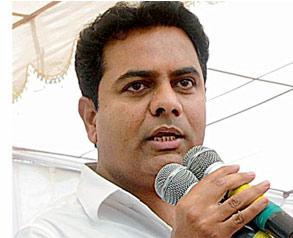 KTR accuses CM of hurting Telangana self-respect