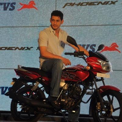 Mahesh Endorses Prestigious Motor Bike