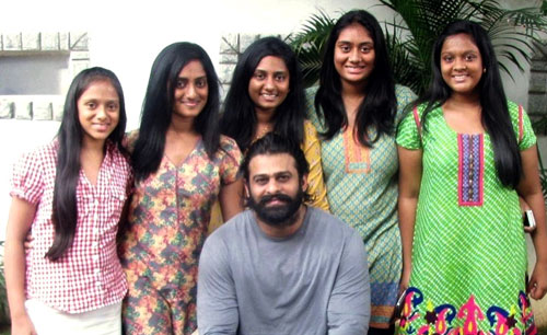 'Bahubali' Caught with Babes