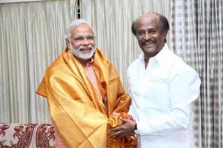 PM's Birthday Wishes to Rajnikanth