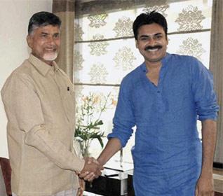 Pawan Meets Chandrababu Naidu