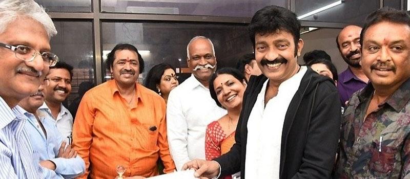 Actor Naresh Panel
